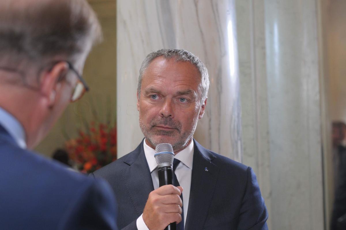 Jan Björklund. Vid riksdagens öppnande 2018.